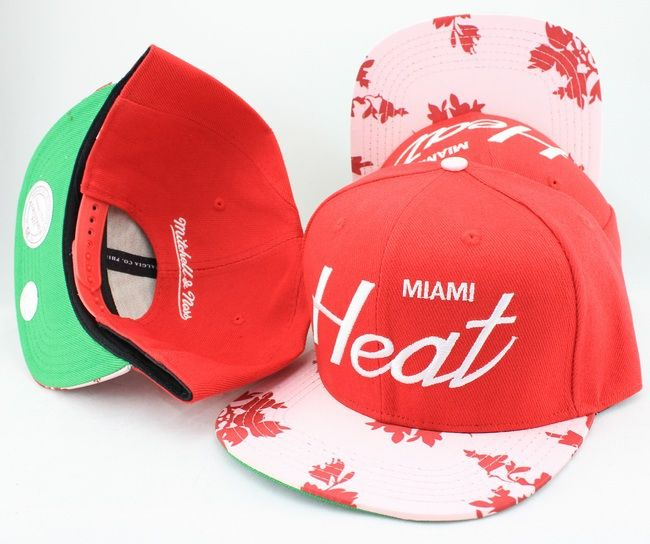 NBA Miami Heat Snapback Hat (52)  4be71060878