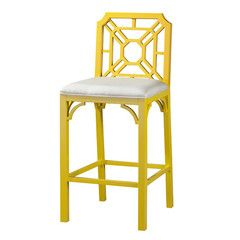 To add color.  Why not have one cool bright stool with a back that can be placed somewhere else in the room and only used at the table when you're using it as a desk?  Then just have two/four (however many you planned) that are backless and can be slid under the table when not in use?  Also, I can't pin on any of your other boards; so everything's going in bathroom.  sorry.