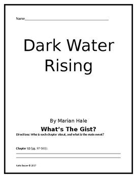 Dark Water Rising Student Packet And Answer Key Higher Order Thinking Questions Feedback For Students Higher Order Thinking