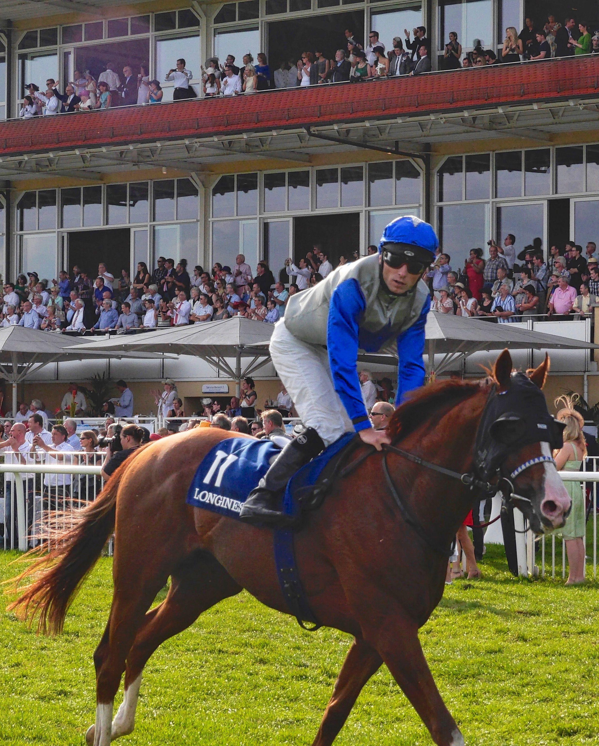 Pferd und Reiterin auf der Eurocheval in fenburg