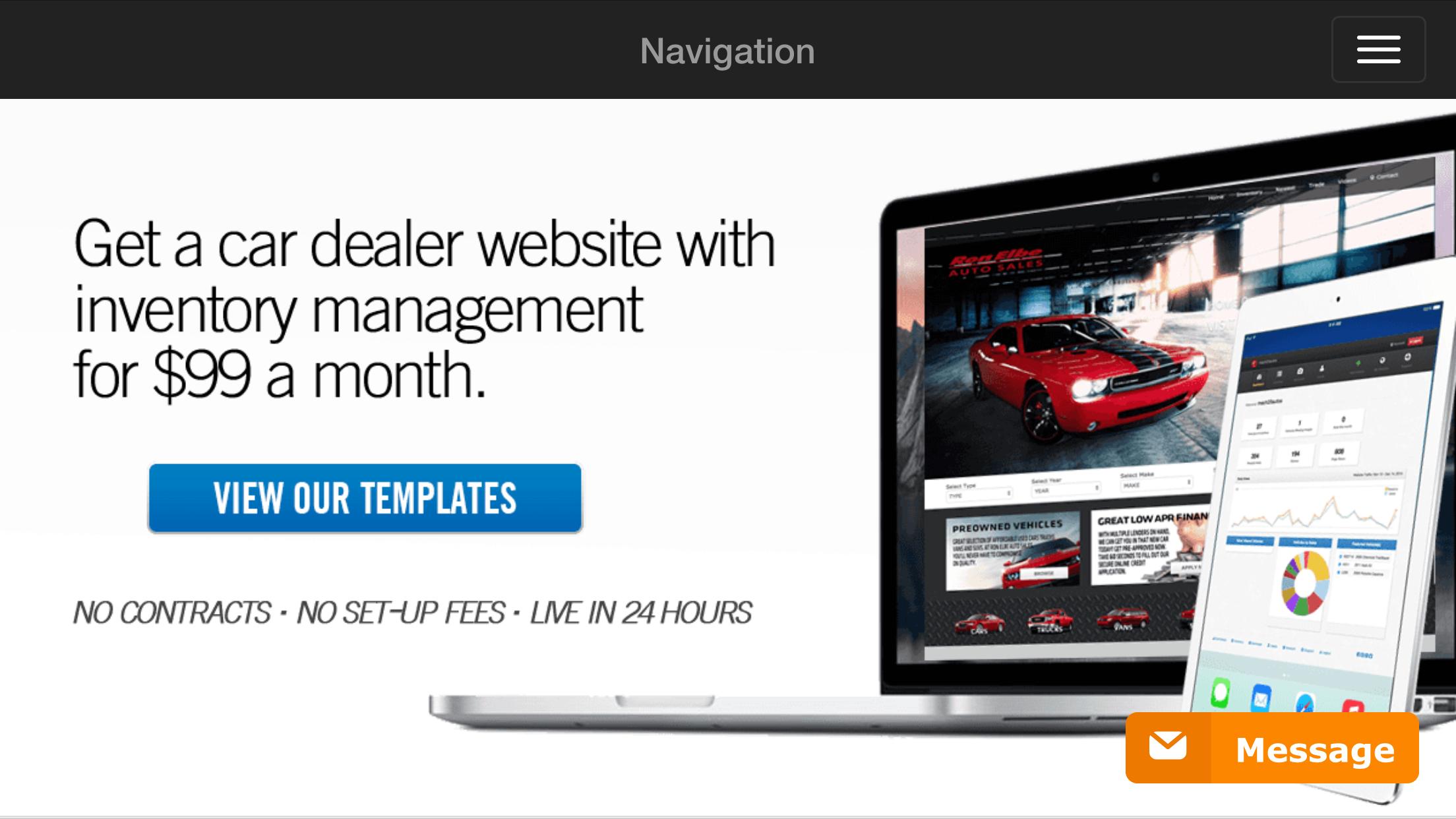 Car Dealership Website Design Including Inventory Management