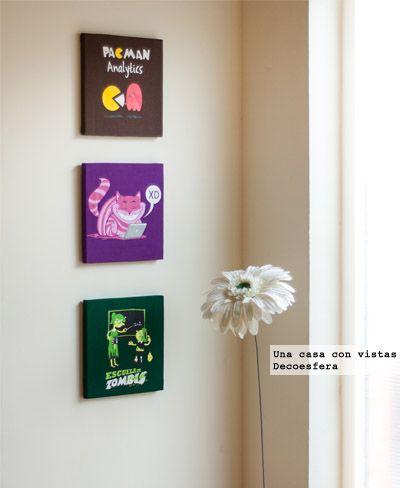 convierte tus camisetas en cuadros inspiracin decoracin diy reciclar ropa pinterest bricolaje