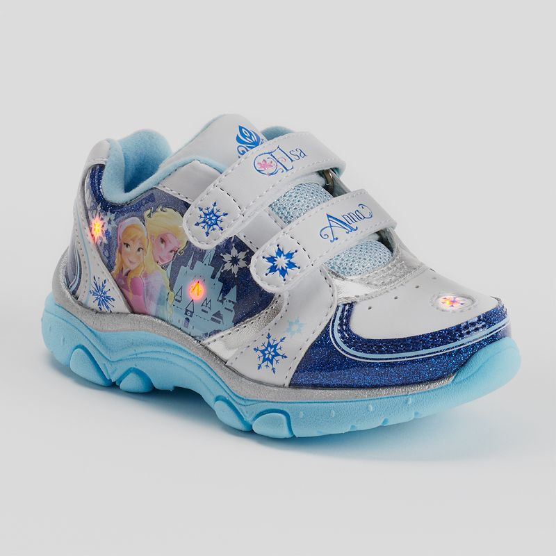 Disney Frozen Elsa & Anna Light-Up Athletic Shoes - Toddler Girls Autumn  would need a size 11 toddlers