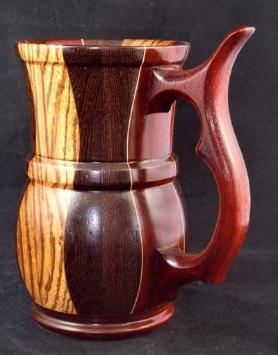 Wooden Mugs And Goblets Lathe Wood Mug Wood Lathe Wood