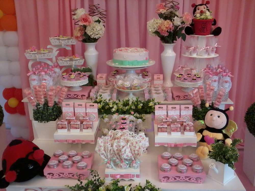 Garden Baby Shower Ideas favor ideas for a garden themed baby shower Enchanted Garden Baby Shower Party Ideas