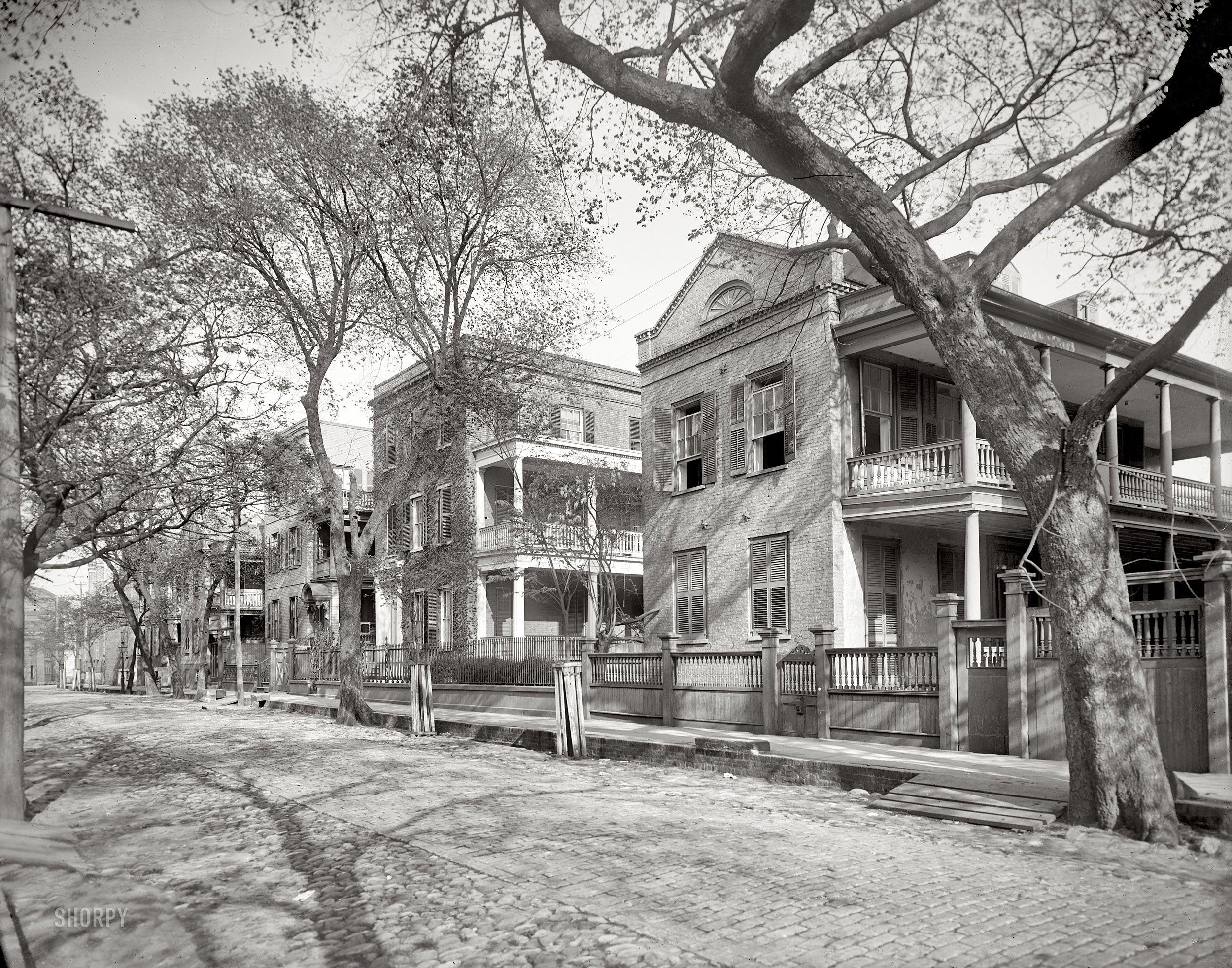 charleston home design%0A Charleston  South Carolina  circa         Residence on Hasell Street