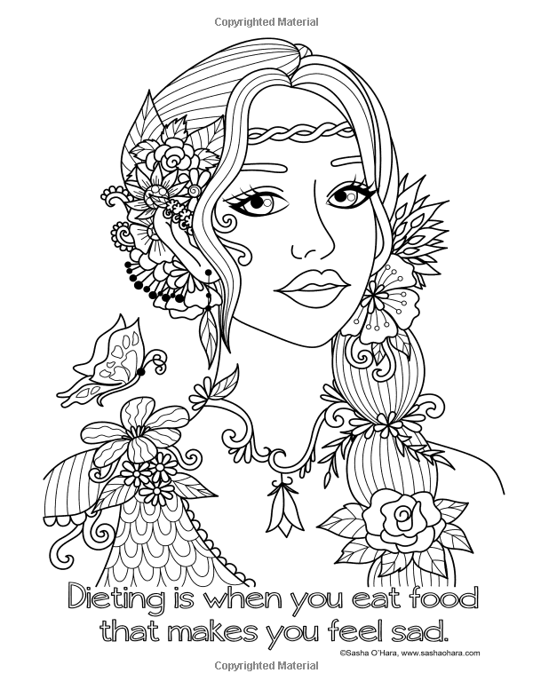 Amazon.com: Color Me Hangry: An Irreverent Adult Coloring ...