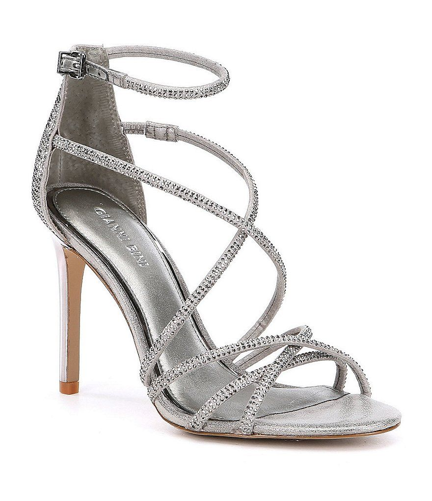 Anselle Jeweled Strappy Dress Sandals eYmqu