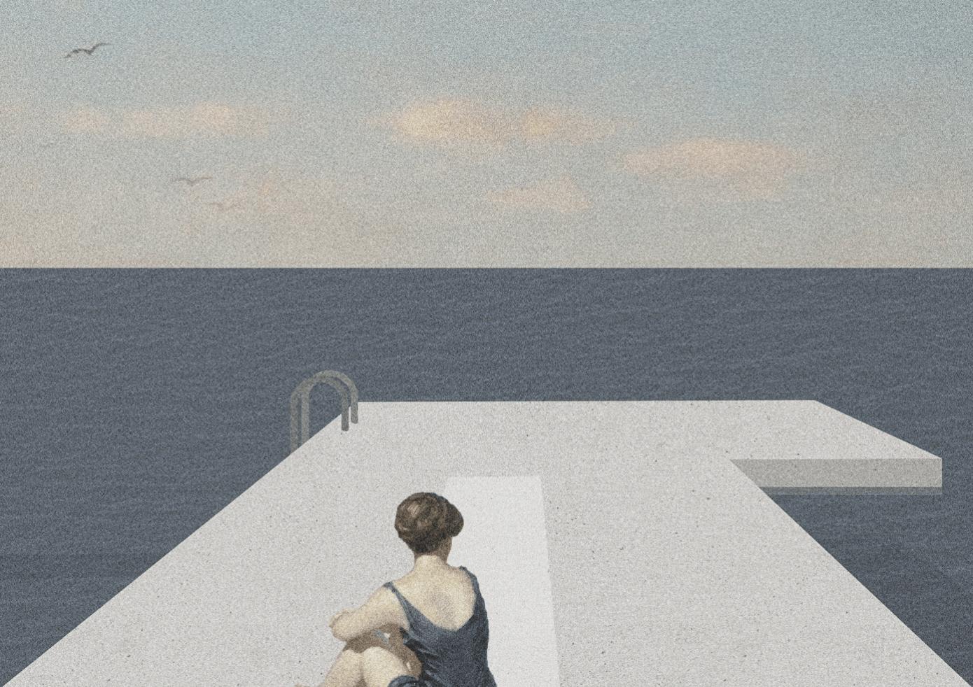 The Phenomenon Of Marine Submersion Jessica Lelandais Et Mathilde  # Fontenla Muebles Hudson