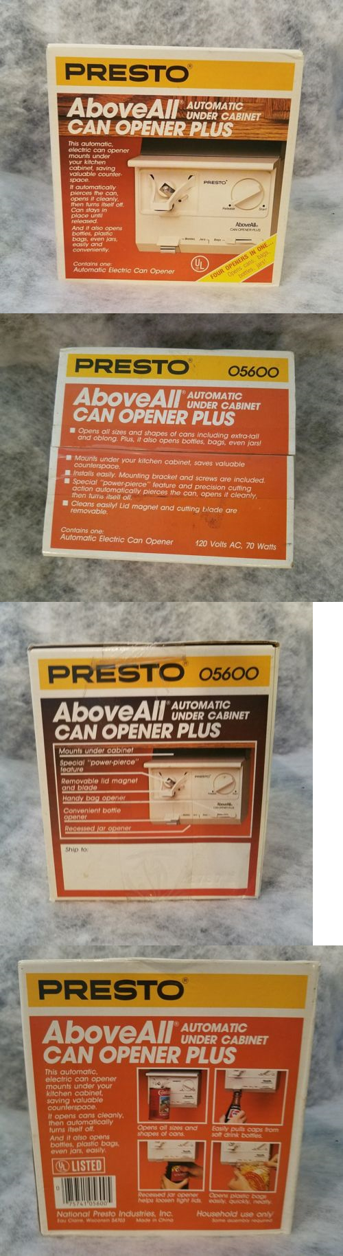 Can Openers and Crushers 20670: Presto Above All Automatic Under ...