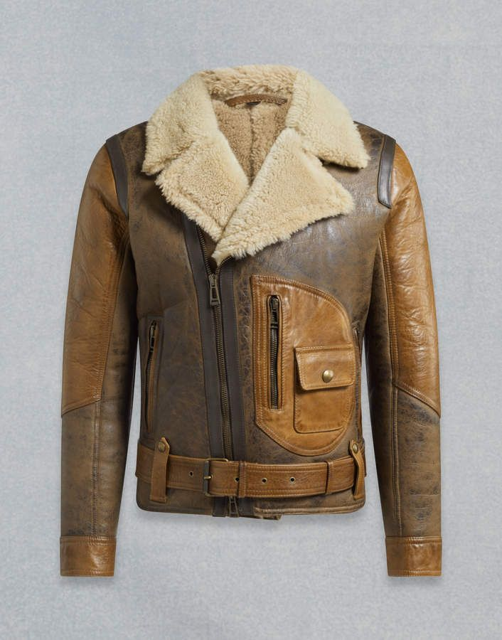 5436e21cb3c Belstaff Danescroft Shearling Aviator Jacket | Products in 2019 ...