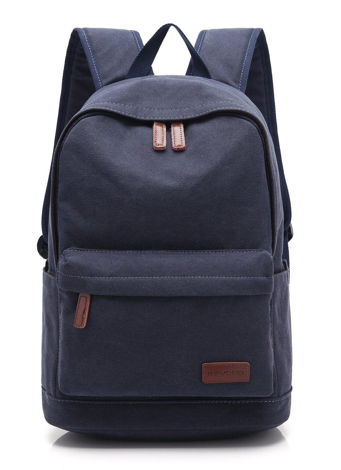 KAYOND Casual Style Lightweight canvas Laptop Bag/Cute backpacks ...