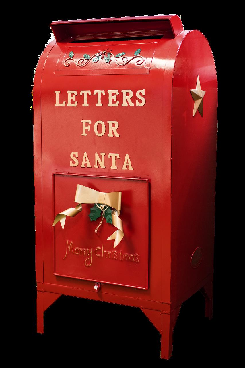 A Letter To Santa Santa Mailbox Christmas Mail Office