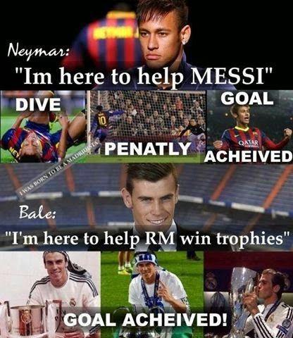 #neymar #messi #barcelona #Bale