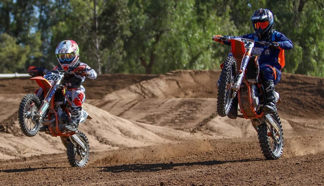 Brian Deegan & son   Off-Road   Kids motorcycle, Motocross