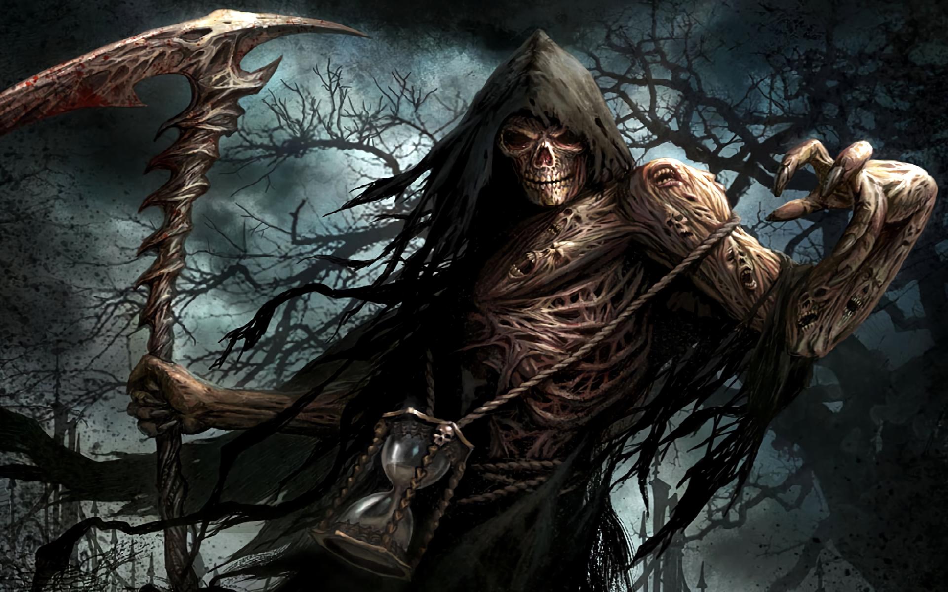 Hd Wallpaper Background Id 236134 1920x1200 Dark Grim Reaper 71 Like Favorite Mystery Games Grim Reaper Art Grim Reaper