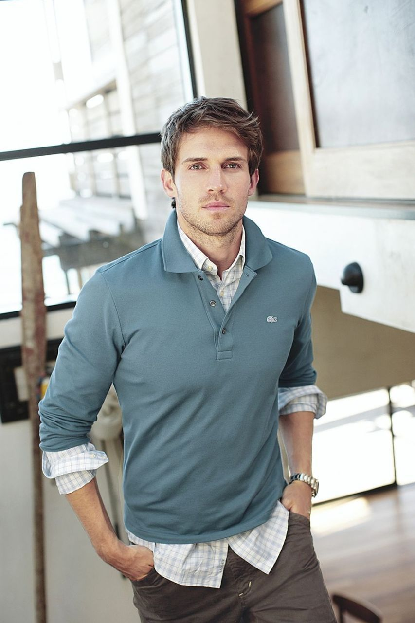 Andrew Cooper - great outfit - Lacoste, men s casual style - polo, casual  shirt layers 6b18cd1ac0d3