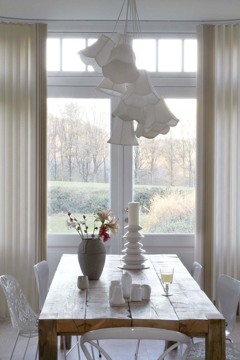 Paneelgordijnen: stijlvol voor schuifpuien en grote hoge ramen ...