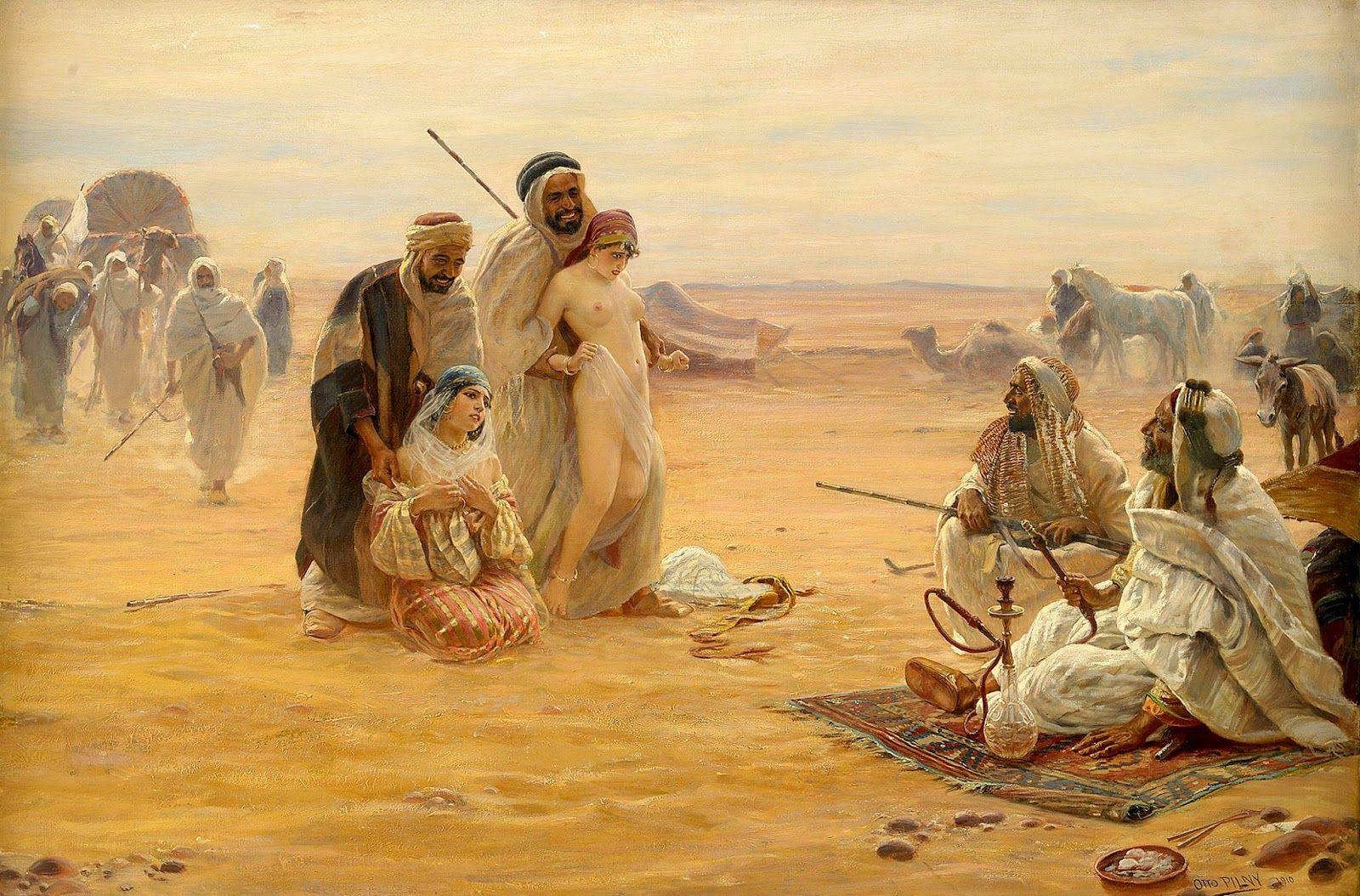 Muslim slave girl nude