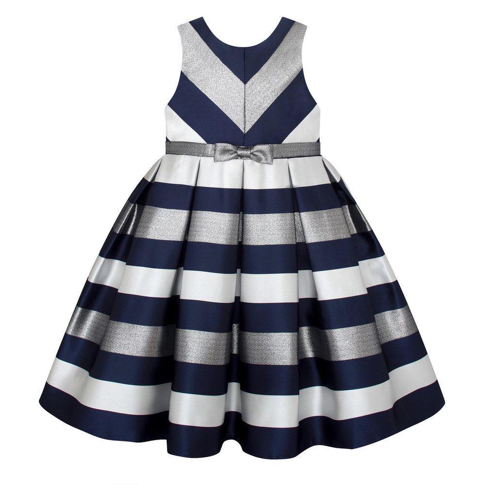 Girls 7-16 & Plus Size American Princess Metallic Striped ...
