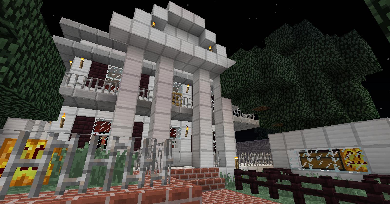 Haunted Mansion Disneyland California Minecraft Builds