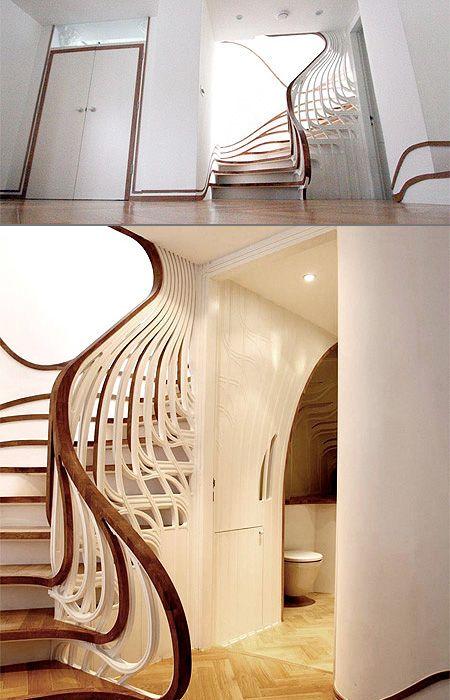 Fluid Staircase