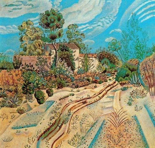 wasbella102: The Wagon Tracks by Joan Miro
