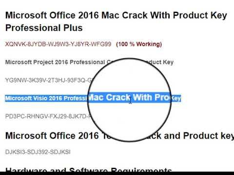 how to crack ms office 2016 mac