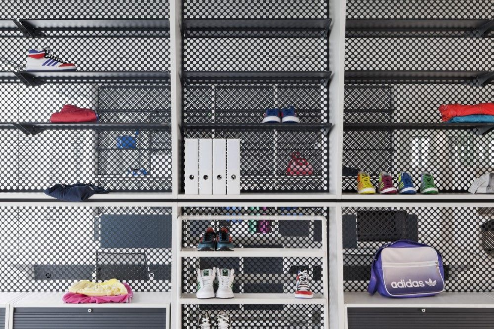 Kinzo adidas Office interiors, Office interior design