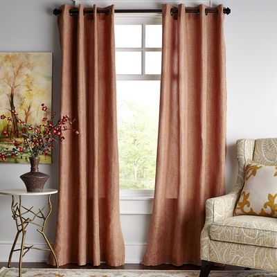 Shimmer Curtain - Copper