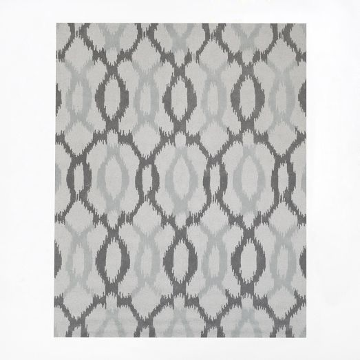 Master Br 8x10 Rug Ikat Links Wool Rug West Elm Would Like To Take Duvet Cover To We To Confirm Color Coordination Modern Wool Rugs West Elm Rug Big Rugs