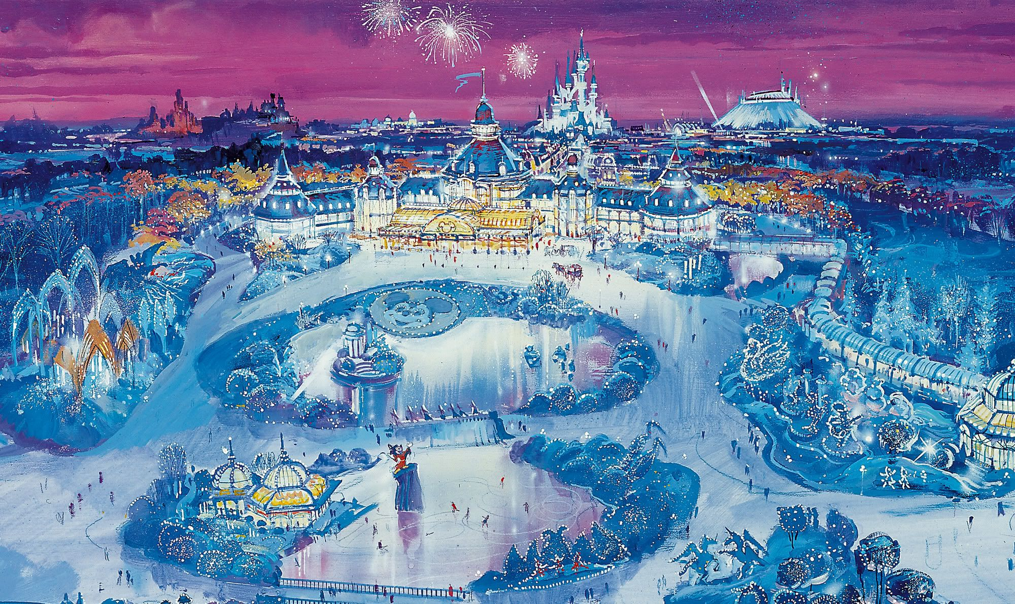 Disneyland Paris Concept Art