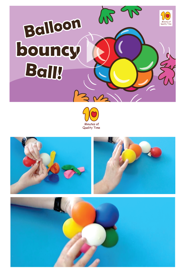 Balloon Bouncy Ball Fun Activities For Kids Diy Arts And Crafts Bouncy Ball