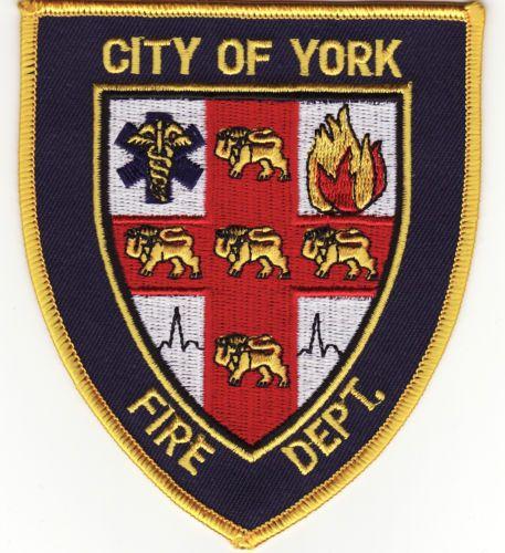 Ne City Of York Nebraska Fire Dept Patch New Ebay With Images