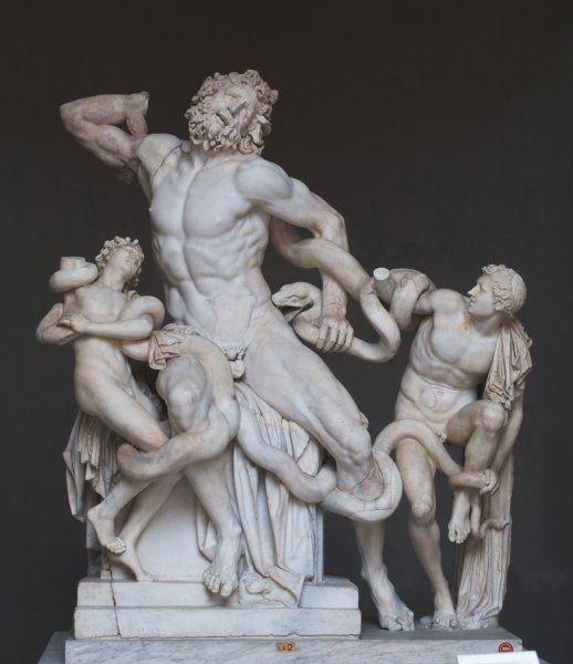 En Statue Om Laokoon Og Slangerne Vi Har Valgt At Perspektivere Denne Statue Til Bernini S Pluto And Persephone 1621 1622 Statue Skulptur Antikken