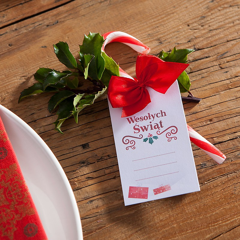 Zawieszka Do Prezentow Boze Narodzenie Tableware Napkins