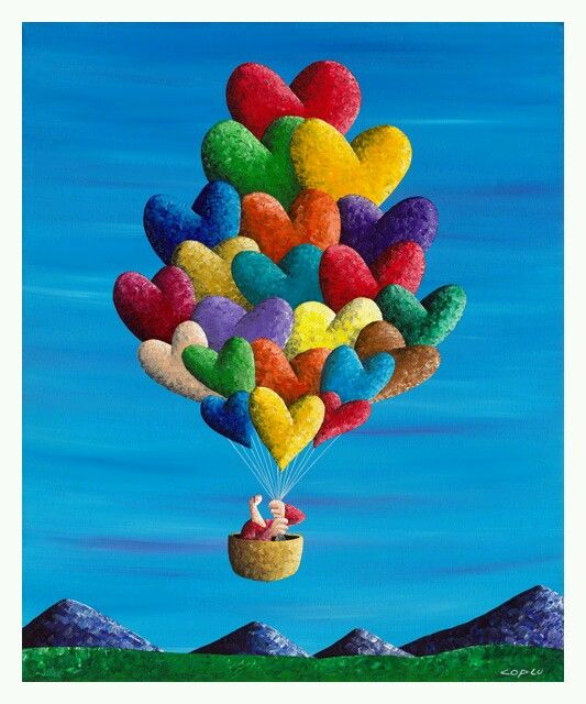 Colorful balons