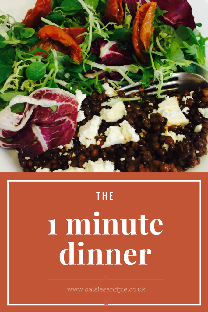 The 1 Minute Dinner
