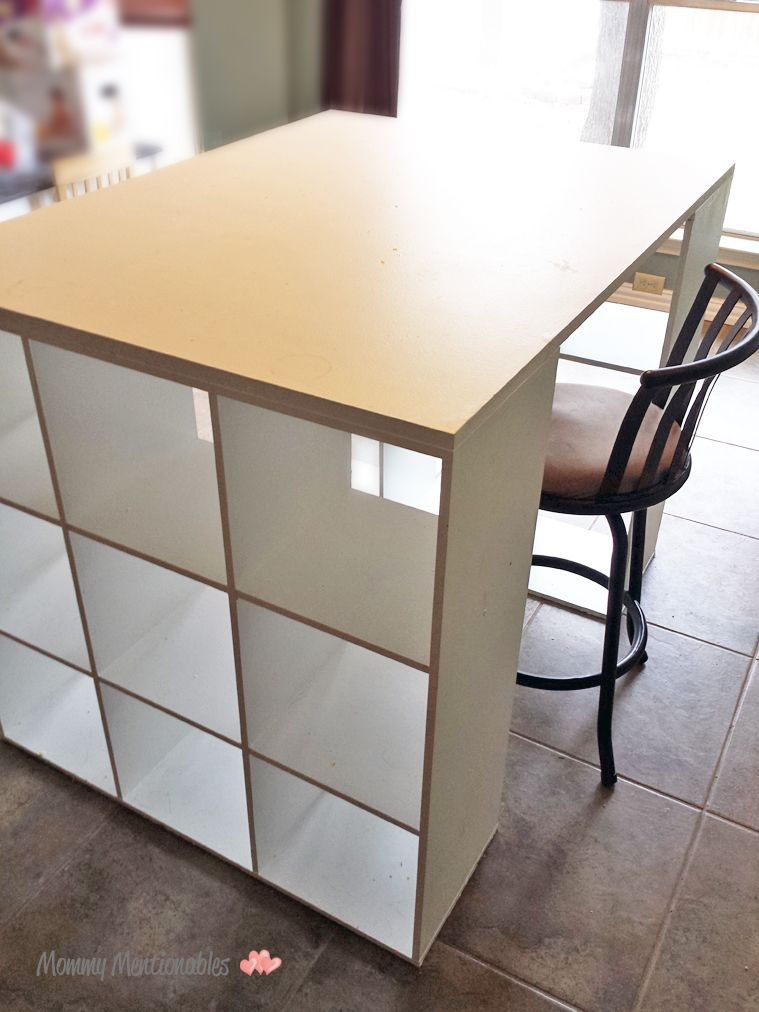 Diy Craft Table How To Make A Craft Desk With Cubicles