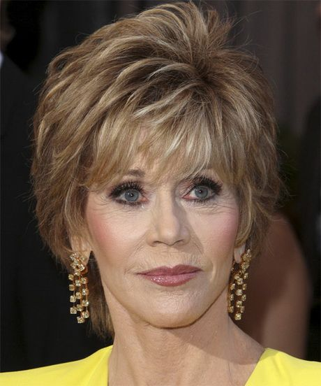 Jane Fonda Hairstyle Wispy Razor Cut Pictures To Pin On Hair