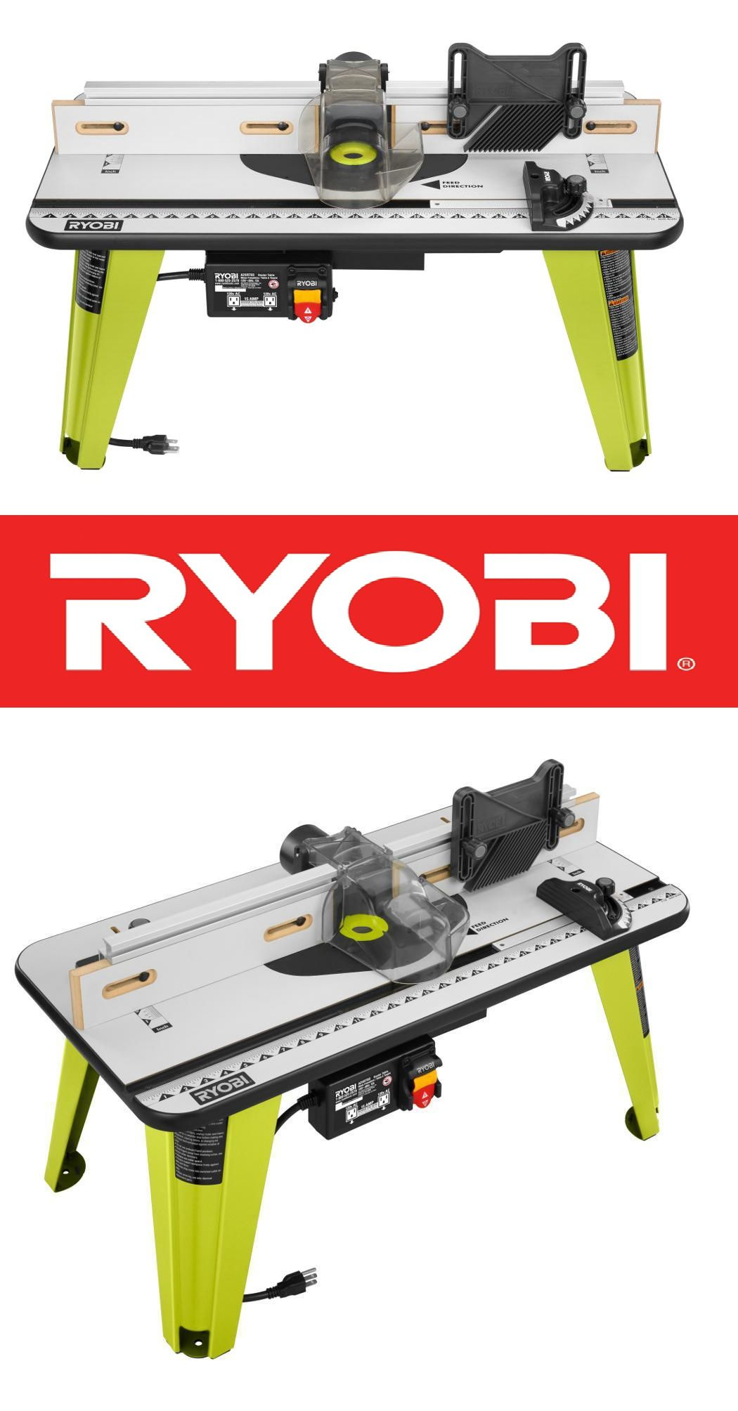 Router Tables 75680 New Ryobi Universal Router Table Wood Working