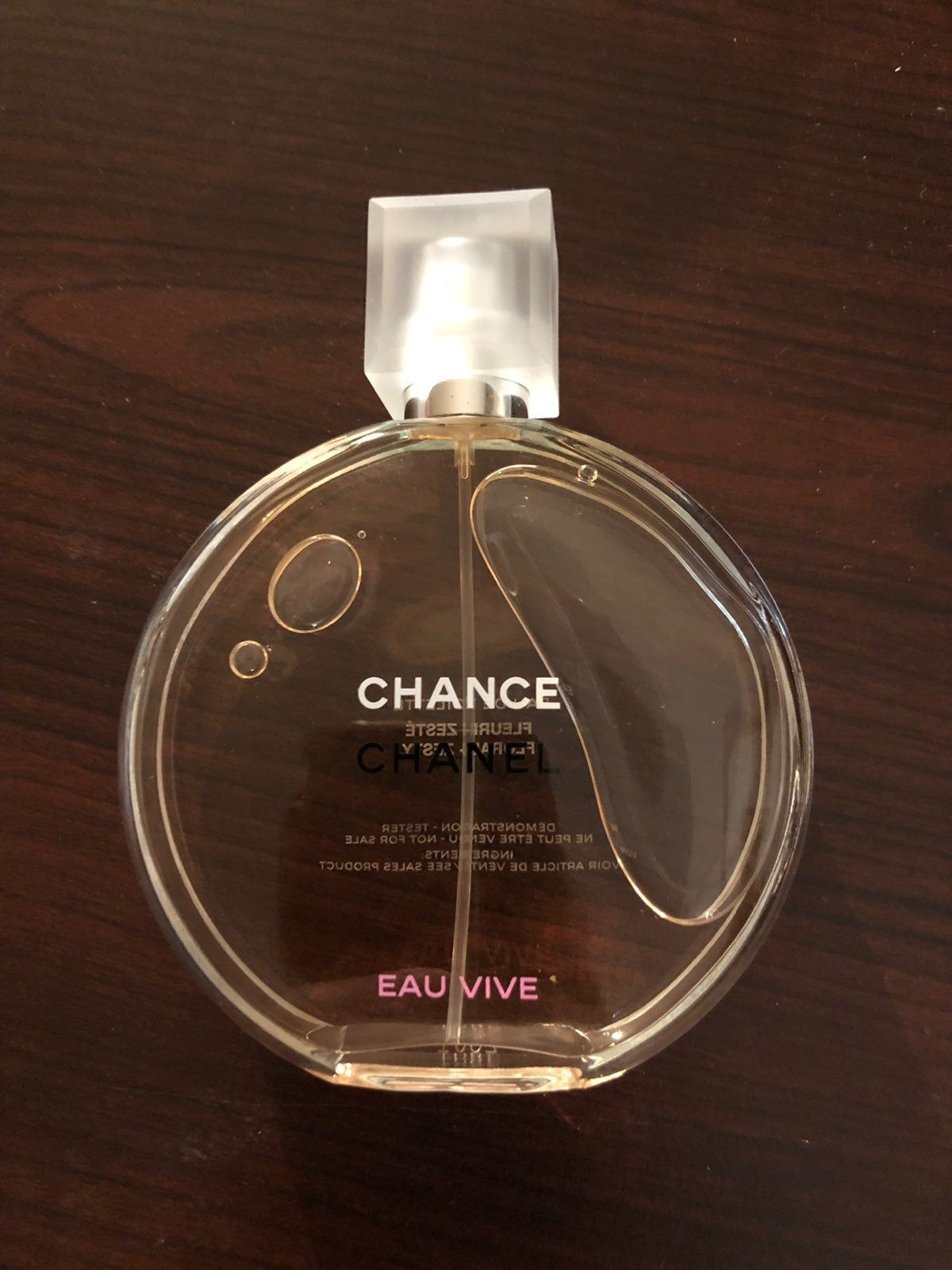 Brand New Demonstration Tester Size With Tester Box Chanel Chance Eau Vive Size 100ml 3 4fl Oz 100 Authentic Perfume Bottles Chanel Men Perfume
