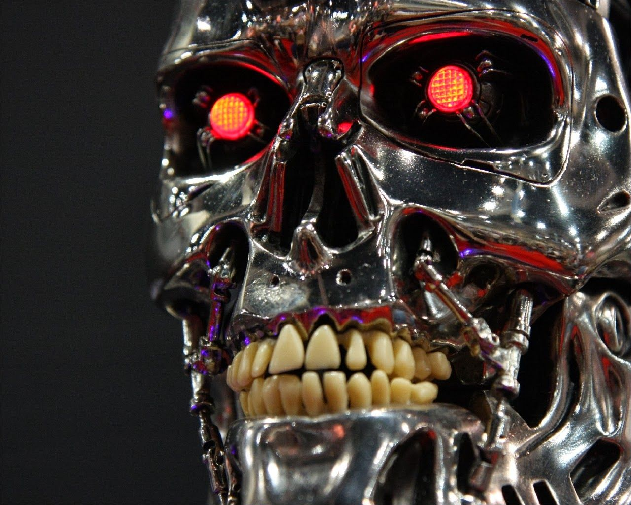 Scary robot face google search character design for Terminator face tattoo