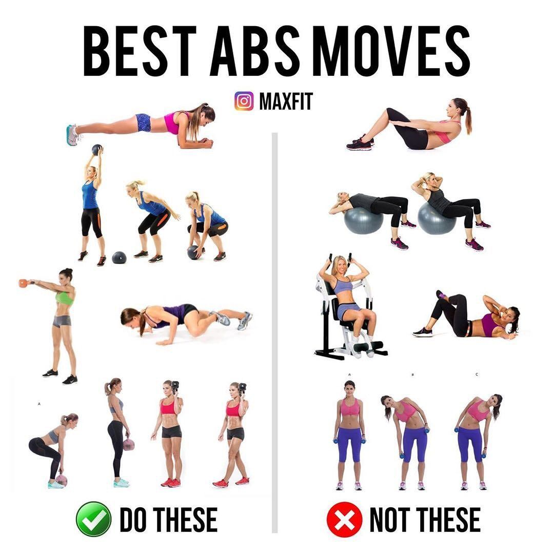 Best Abs Moves Try Or Pass Tag A Friend We All Want A Stronger Core The Problem Is Most People Are Going About It Th Best Abs Abs Workout Abs Challenge