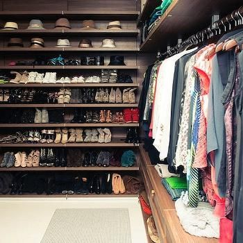 Floating Closet Shelves, Transitional, closet, The Coveteur