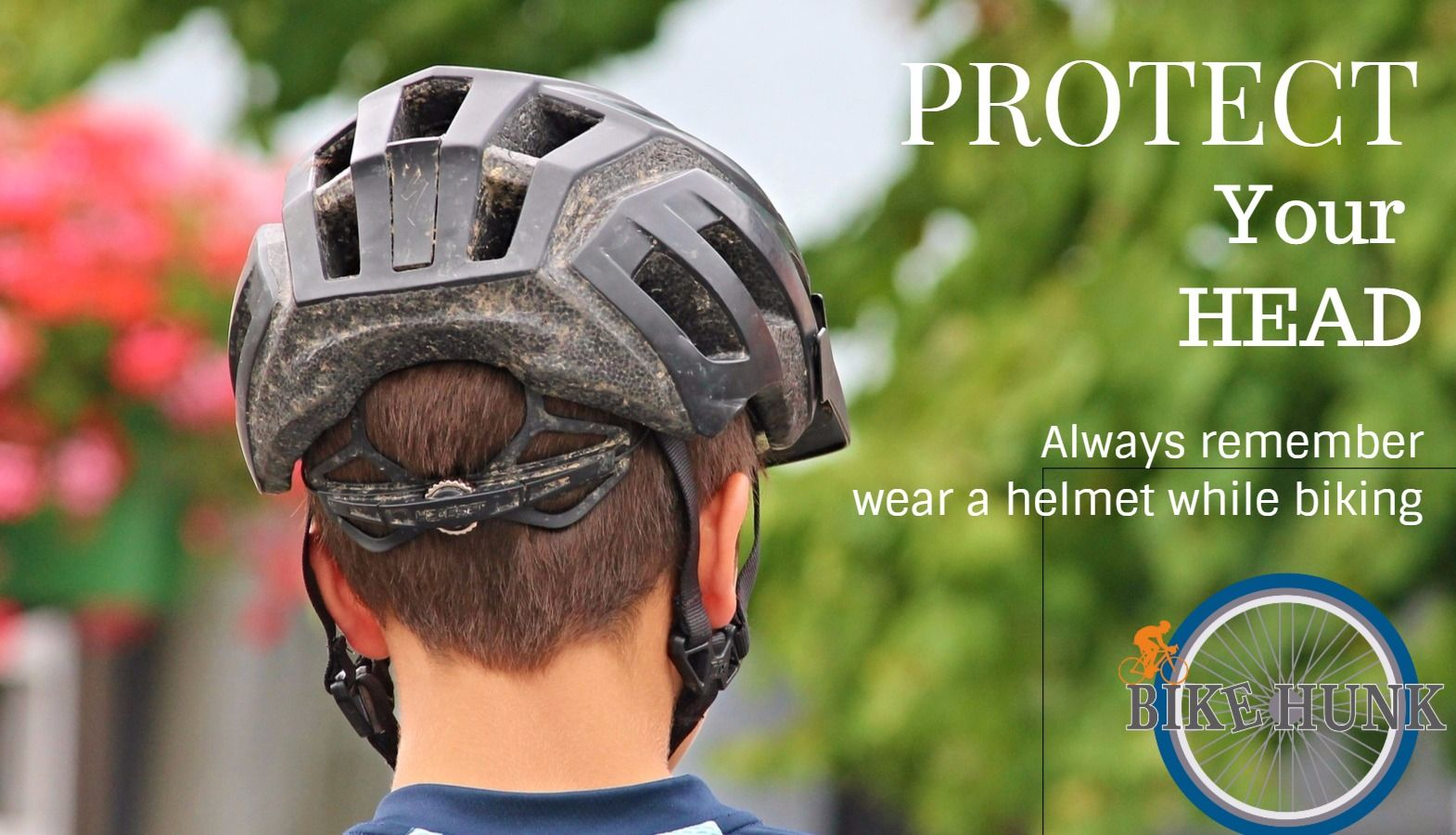 Cycling Advice Protect Your Head Always Wear A Helmet When