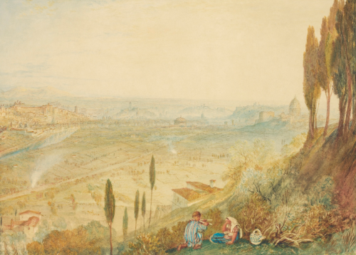 J.M.W. Turner, R.A., Rome from Monte Mario © Sotheby's