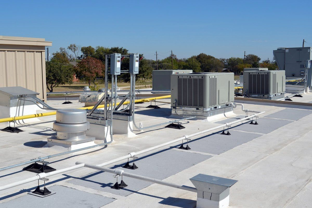 Hire one company that can work on your building's roof to