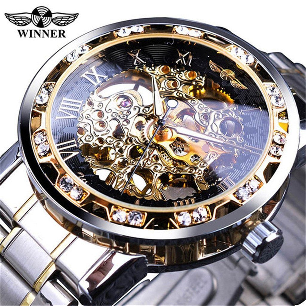 2020 Mechanical Luxury Men Watches In 2020 Skeleton Watches Watches For Men Diesel Watch