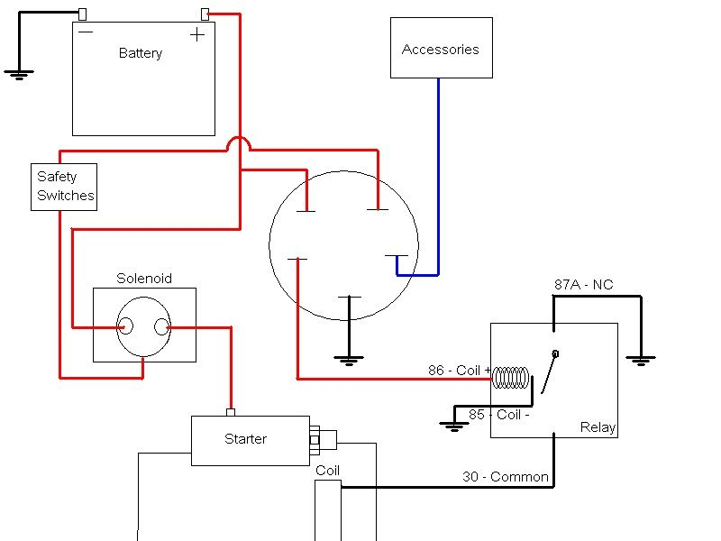 small engine schematics wiring diagram  small engine light diagram #13